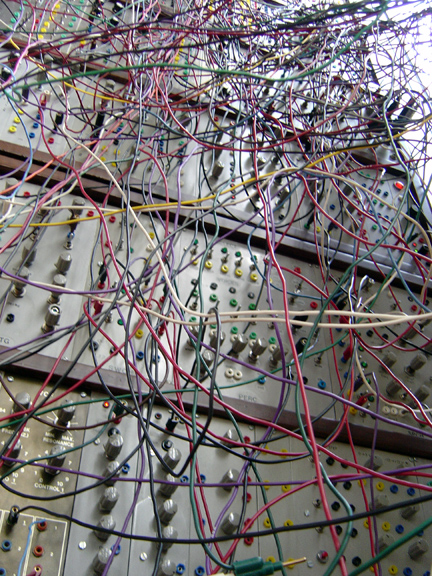 Mammoth Modular Synthesizer At MIT Museum